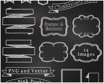 340x270 Chalkboard Clipart Frame Astonishing Chalk Frame Vectors S And Psd