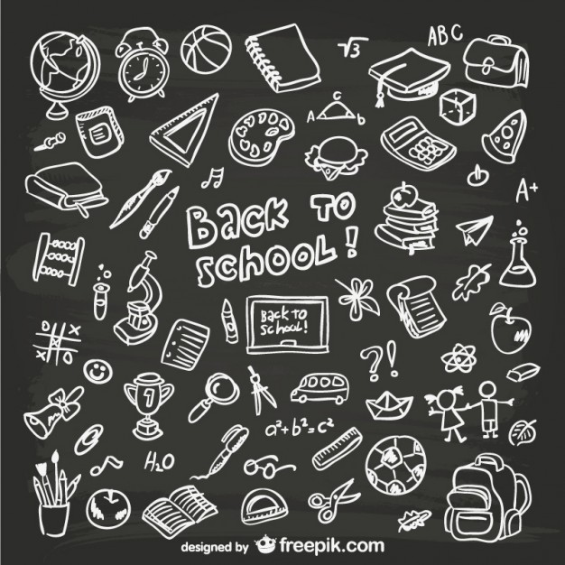 626x626 Chalkboard Doodles Vectors, Photos And Psd Files Free Download