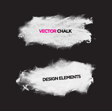 393x389 Vector Chalk Banner Material Free Download