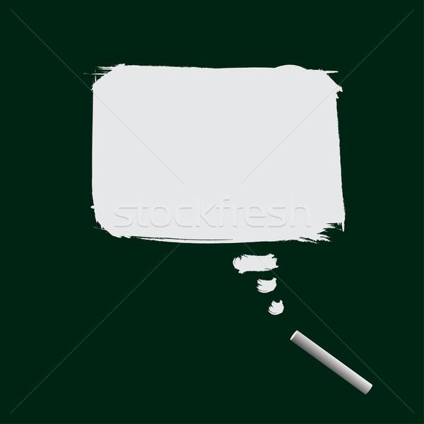 600x600 Black Board And Chalk Vector Illustration Hon Ng (Hfng) ( 243036