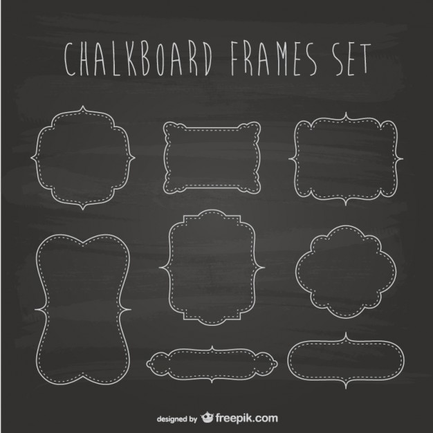 626x626 Coffee Menu Chalkboard Design Vector Free Vector Download In .ai