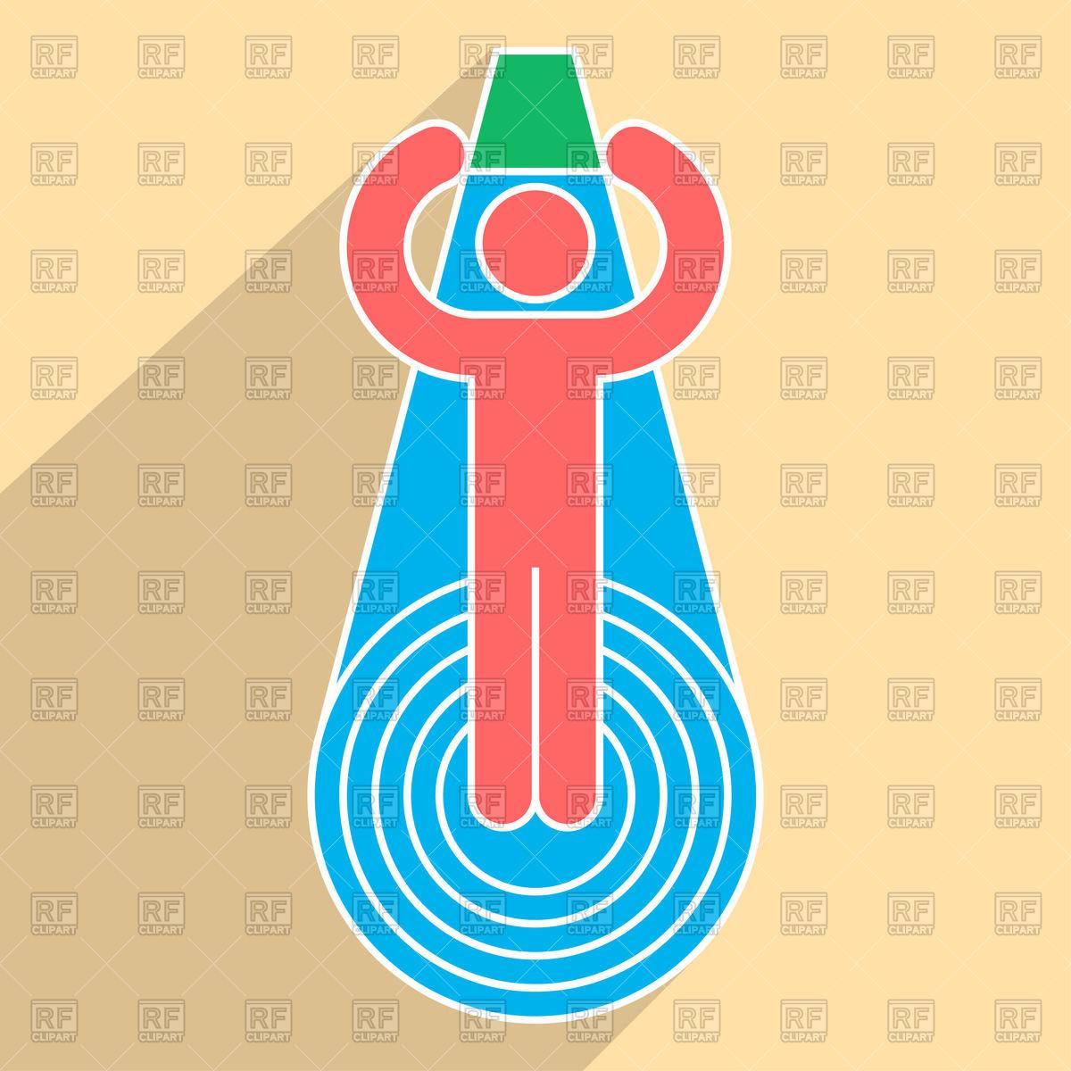 1200x1200 Als Ice Bucket Challenge Pictogram Vector Image Vector Artwork