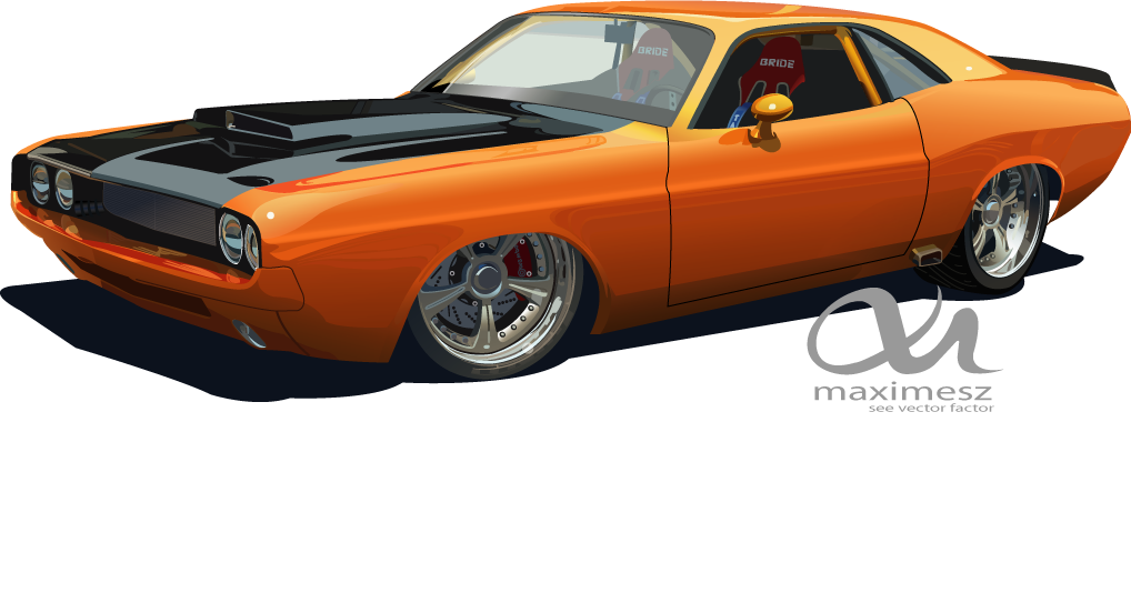 1018x552 1970 Dodge Challenger By Maximesz