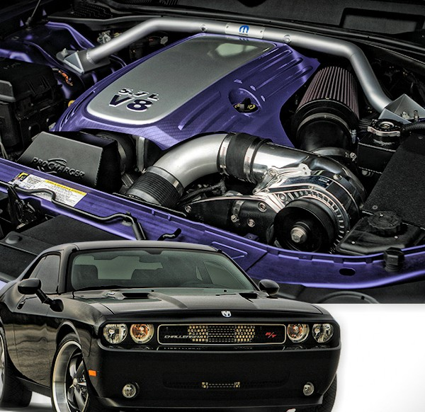 600x582 Procharger System 2008 10 Challenger Rt 5.7l Vector Motorsports