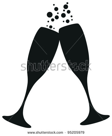 388x470 Champagne Glasses Clip Art Amp Look At Champagne Glasses Clip Art