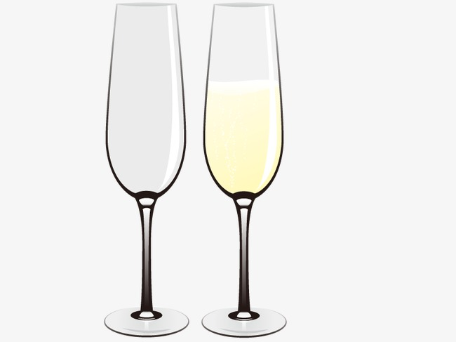 650x487 Vector Champagne Glasses, Glasses Vector, Hd, Vector Png And