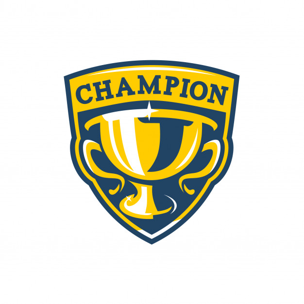 626x626 Champions Badge Logo Vector Premium Download