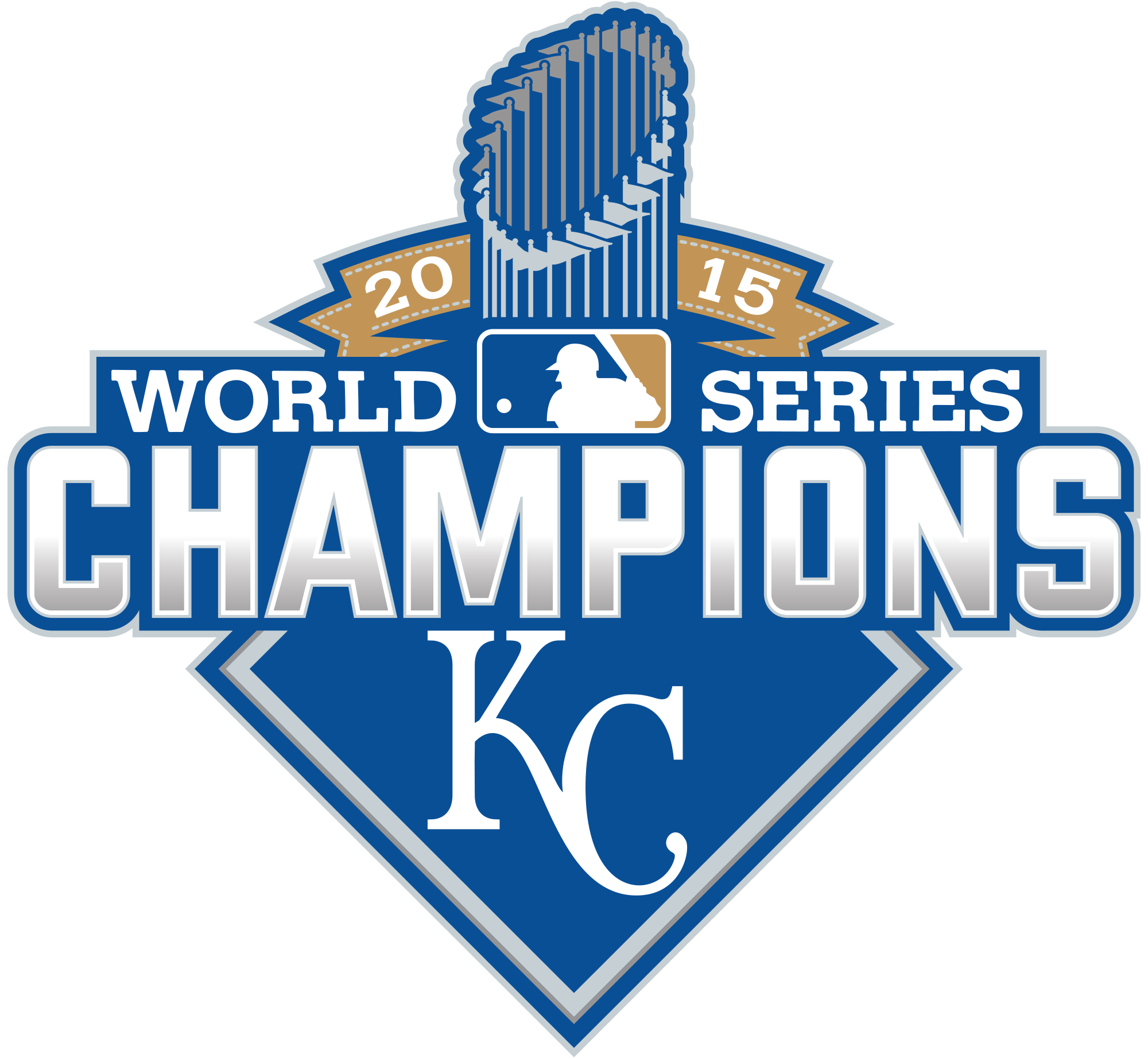 2000x1846 World Series Champs Logo Vector File Kcroyals