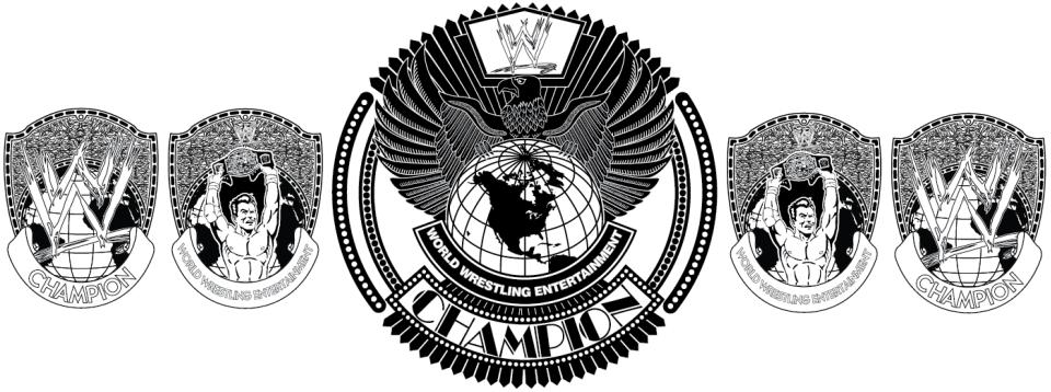 Championship Belt Vector