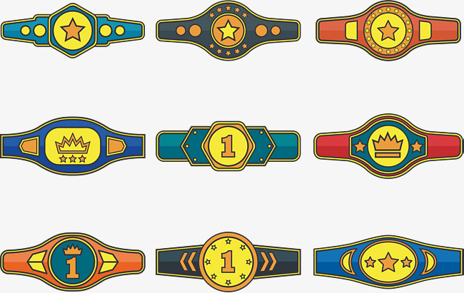 650x411 Champion Belt Trophy, Trophy Vector, Champion, Championship Png