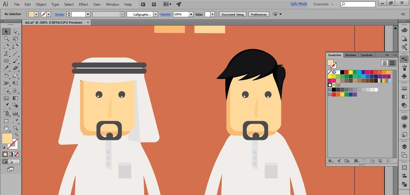 1366x649 Create Cartoon Characters Arab