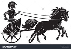 236x164 Download Free Graphicriver Carriage Silhouette With Horse