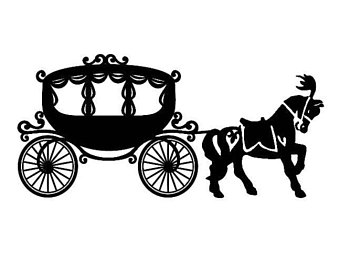 340x270 Fairytale Clipart Chariot ~ Frames ~ Illustrations ~ Hd Images
