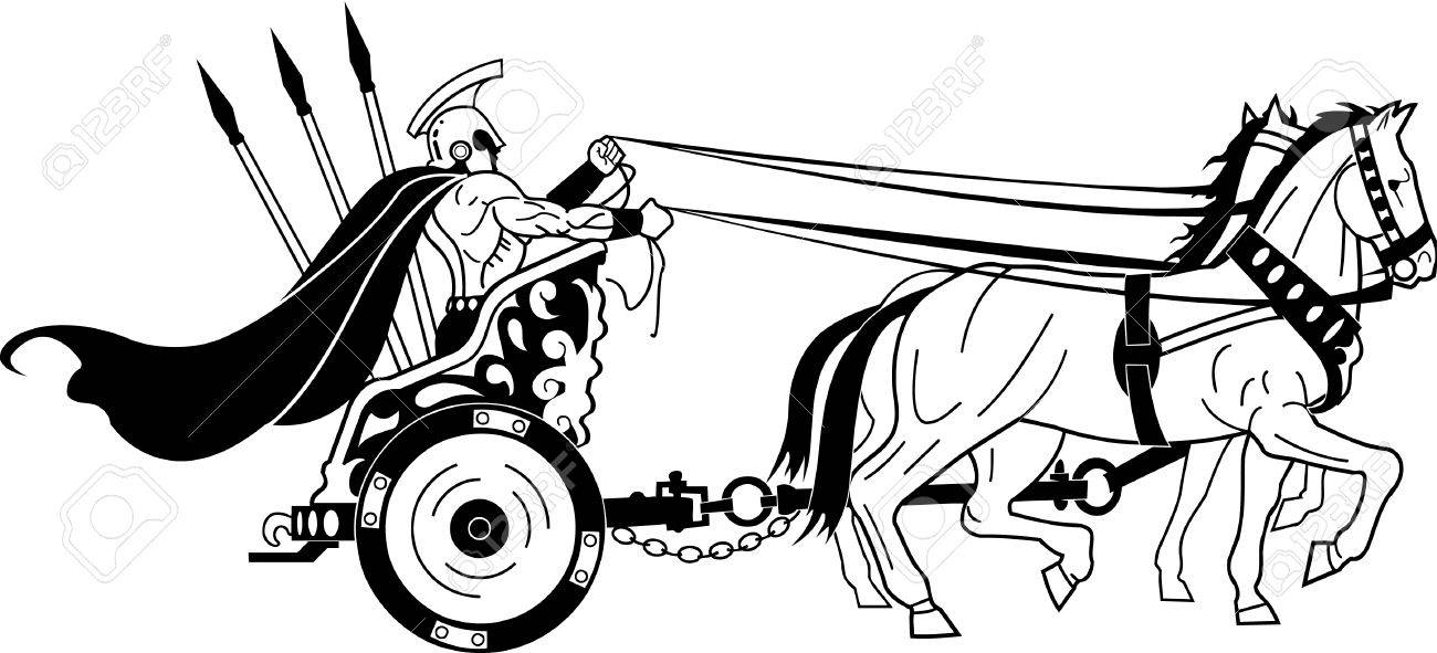 1300x591 Roman Clipart Chariot ~ Frames ~ Illustrations ~ Hd Images ~ Photo