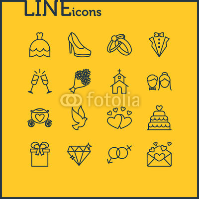 400x400 Vector Illustration Of 16 Engagement Icons. Editable Pack Of