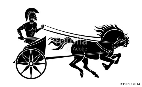 500x305 Chariot Gladiator Stock Image And Royalty Free Vector Files On