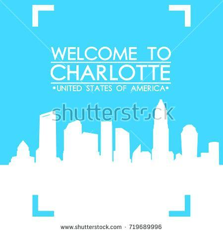 450x470 Charlotte Skyline Art Framed Edubay