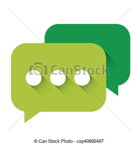 450x470 Chat Icon Vector Green.