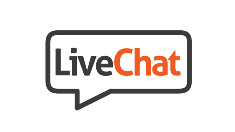 800x450 Live Chat Icon Vector
