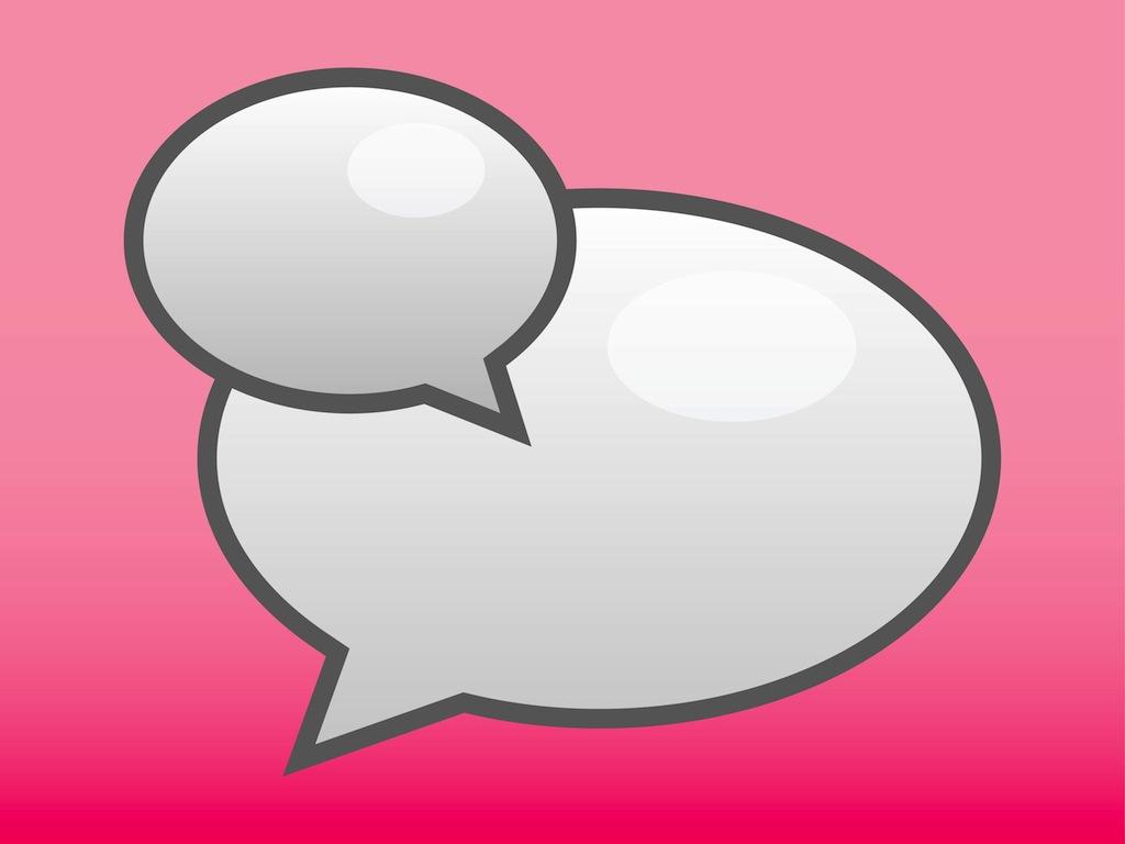 1024x768 Chat Icon Vector Art Amp Graphics