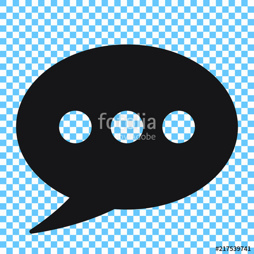 500x500 Chat Icon, Comments Icon. Stock Image And Royalty Free Vector