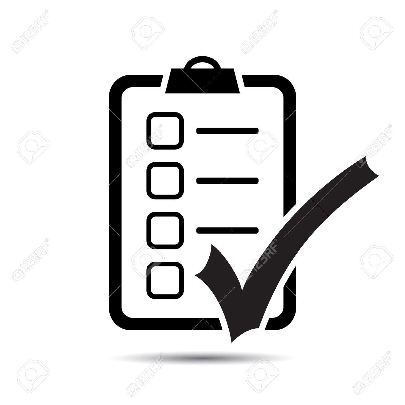 1300x1300 Checklist Icon Vector