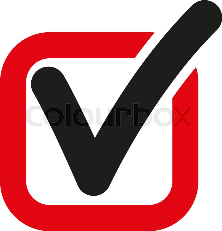 771x800 The Check Icon. Checkmark And Checkbox, Yes, Voting Symbol. Flat