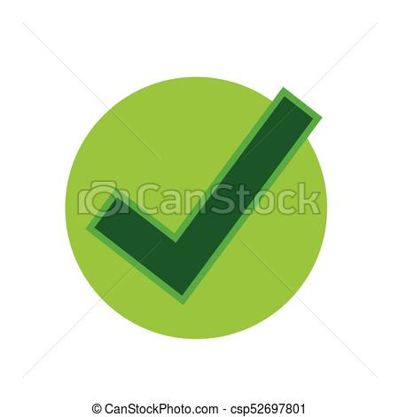 450x470 Tick Check Mark Icon Vector Clipart
