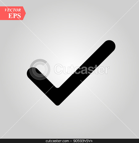 450x464 Check Mark, Check Icon Vector, In Trendy Flat Style Isolated On