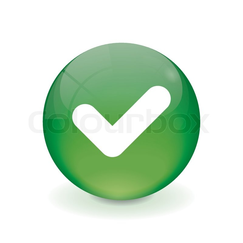 800x800 Round Green Button