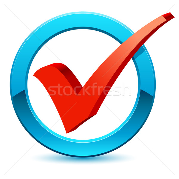600x600 Check Mark Icon Vector Illustration Djdarkflower ( 6764602