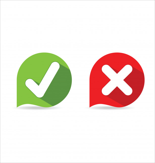 626x658 Check Mark Icon Vector Premium Download
