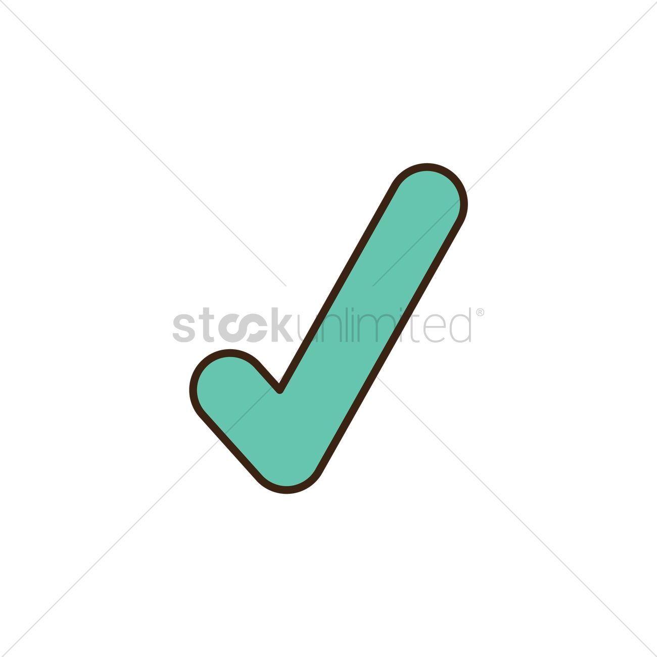 1300x1300 Check Mark Icon Vector Image