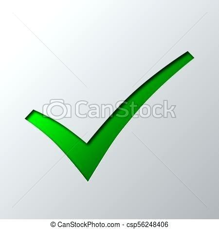 450x470 Green Check Mark Clip Art Paper Art Of The Green Check Mark Vector