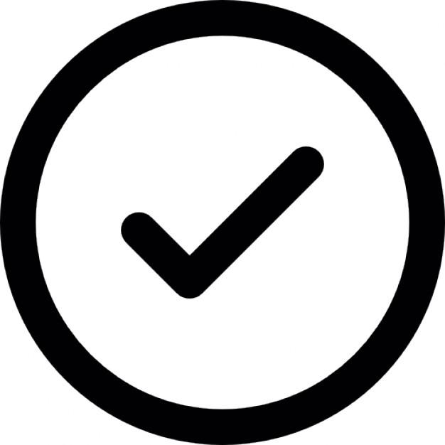 626x626 Free Check Icon Vector 26216 Download Check Icon Vector