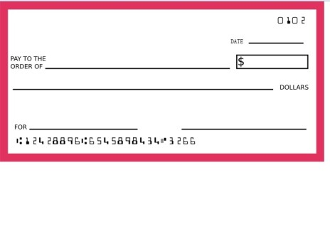 464x350 Blank Check Template Vector Art Free Psd,vector,icons