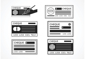 285x200 Blank Check Free Vector Graphic Art Free Download (Found 2,781