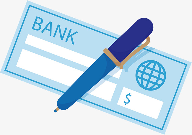 650x458 Blue Cheque Book, Vector Png, Check, Blue Check Png And Vector For