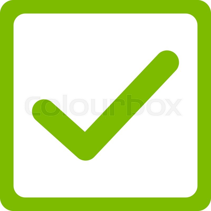 800x800 Checked Checkbox Icon From Business Bicolor Set. This Flat Vector