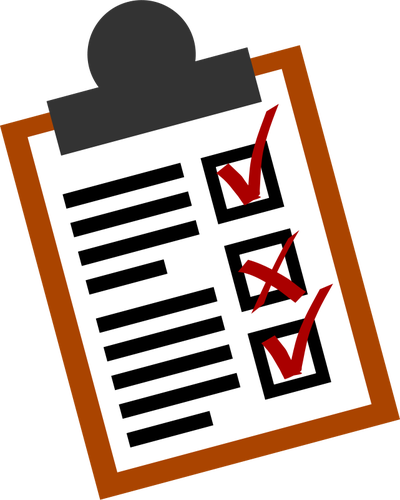 400x500 Checklist Vector Icon Public Domain Vectors
