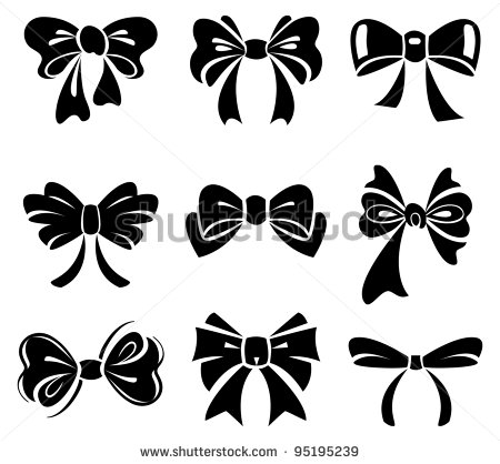 Cheer Bow Vector