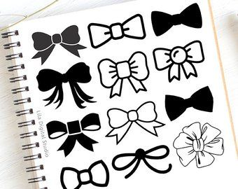 340x270 Bow Tie Svg, Bow Svg File, Bow Clipart, Bow Vector, Bow Svg Bundle