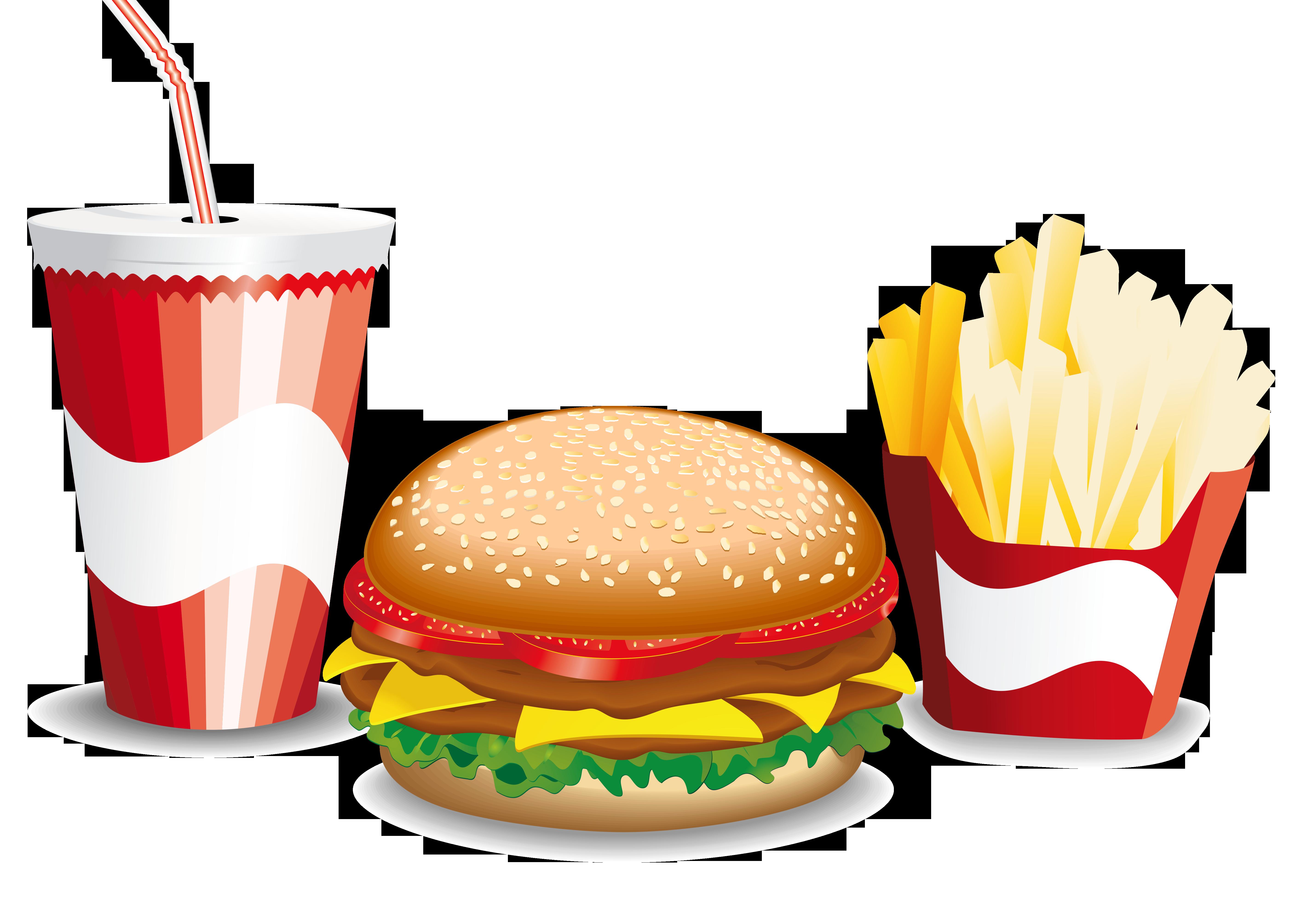 5669x4016 Hamburger Fast Food French Fries Cheeseburger