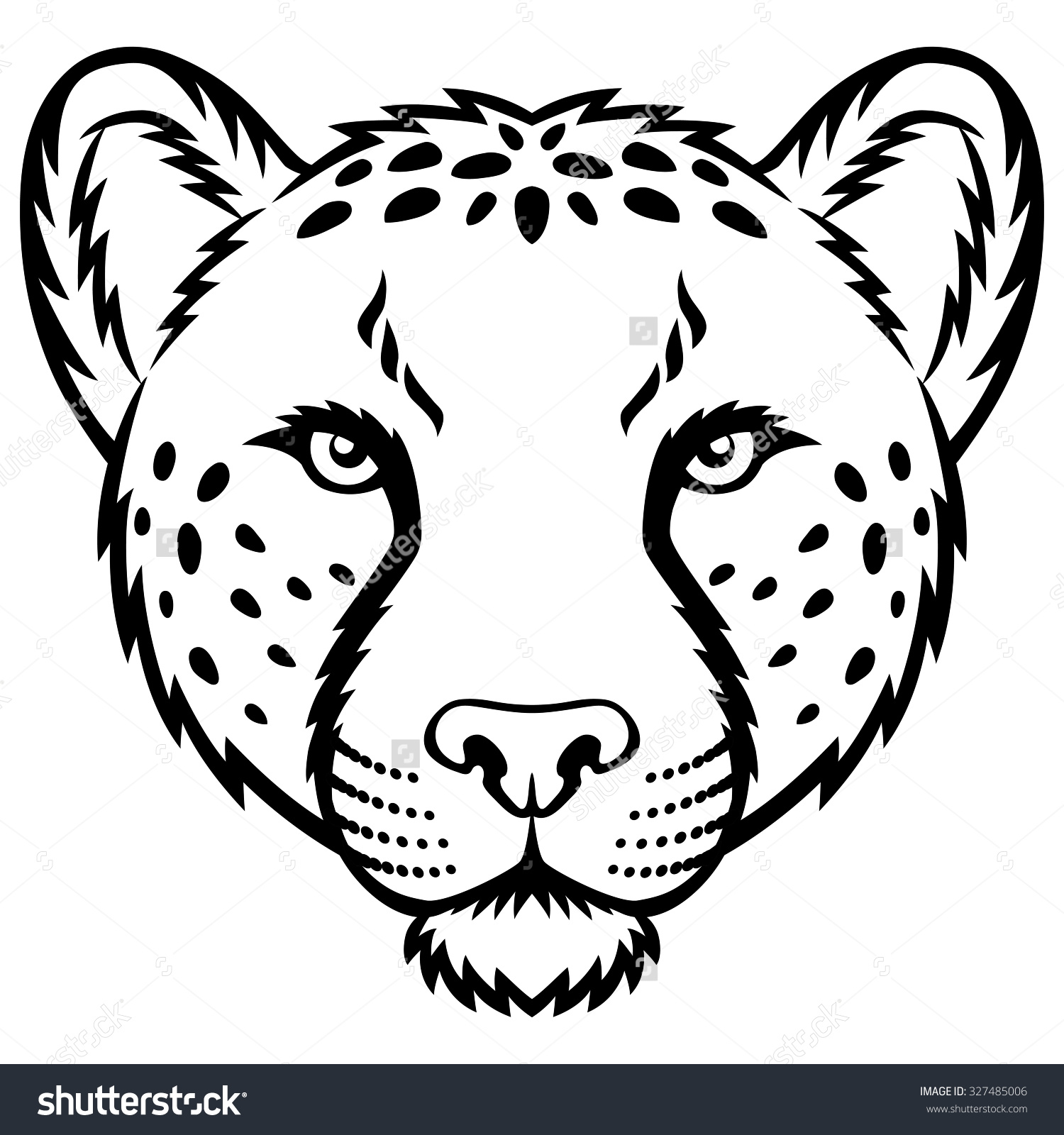 3ec4dd9d9 1500x1600 Collection Of Free Facing Clipart Cheetah. Download On Ubisafe