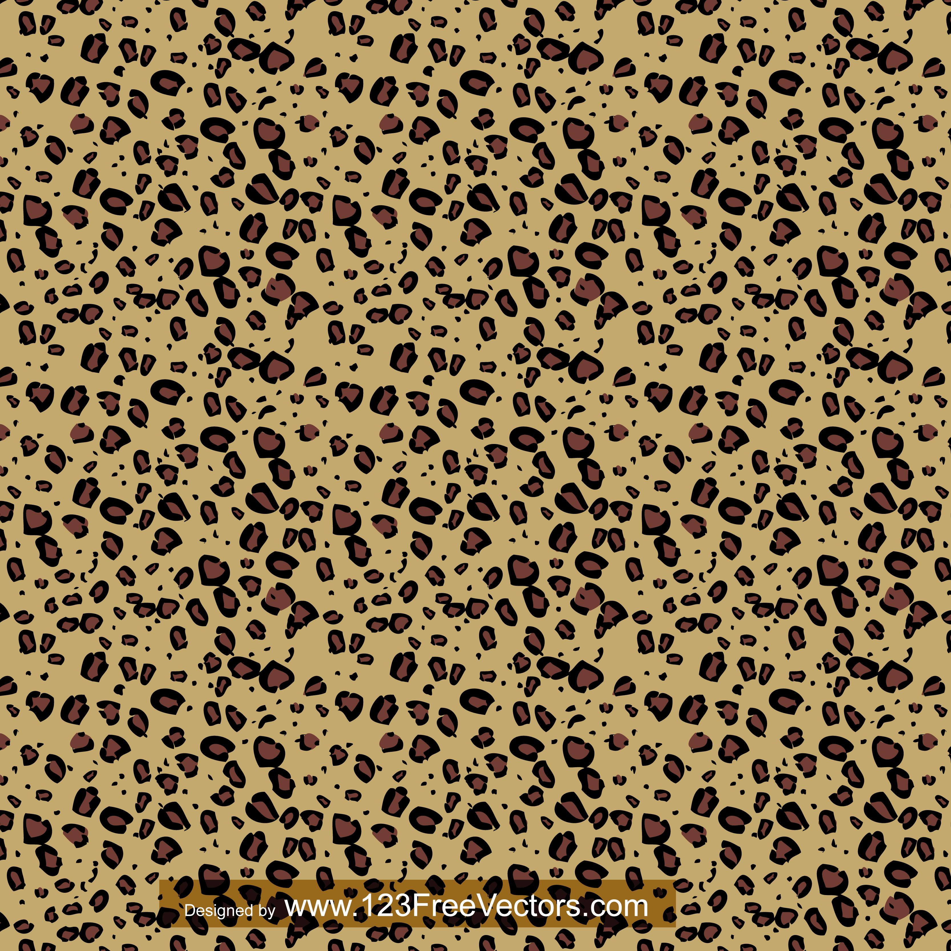 3333x3333 Cheetah Print 123freevectors