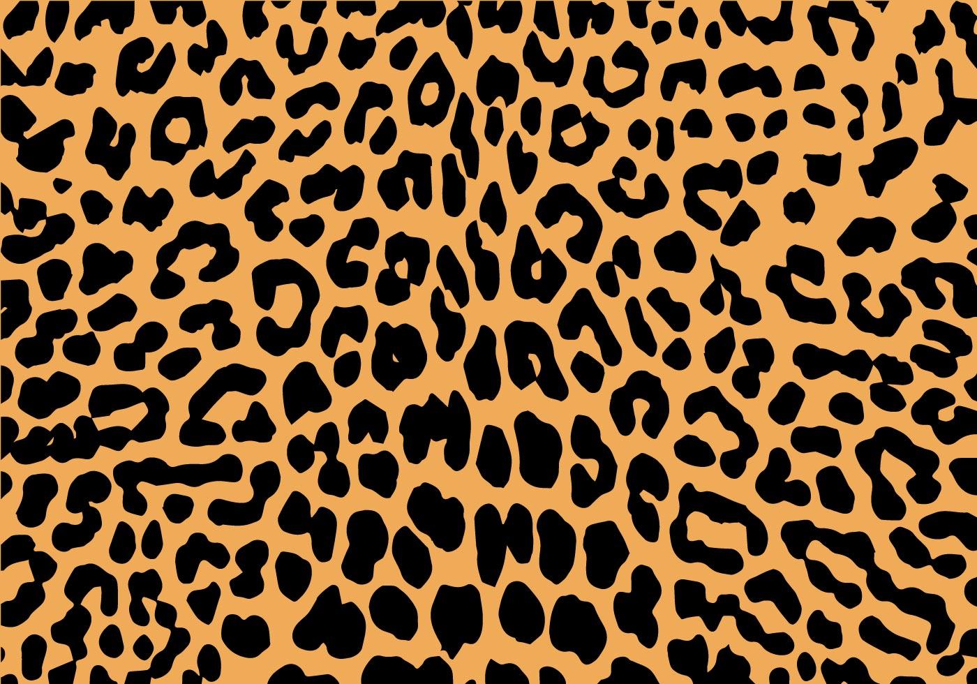1400x980 Leopard Print Free Vector Art