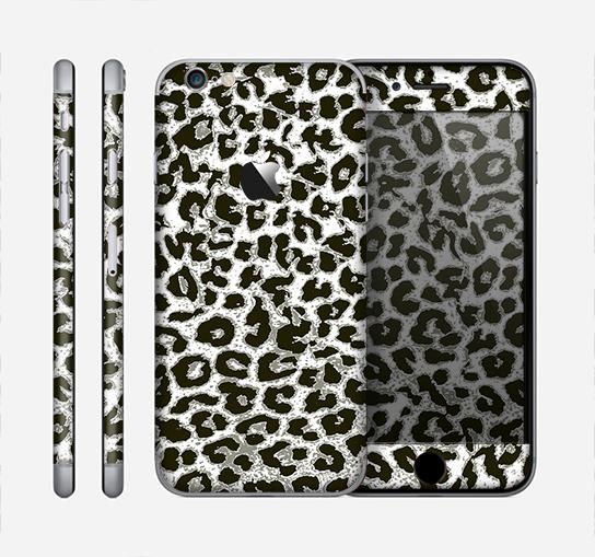 544x509 The Neutral Cheetah Print Vector V3 Skin For The Apple Iphone 6