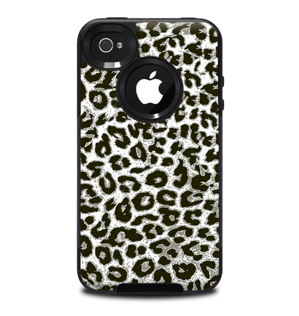 600x634 The Neutral Cheetah Print Vector V3 Skin For The Iphone 4 4s