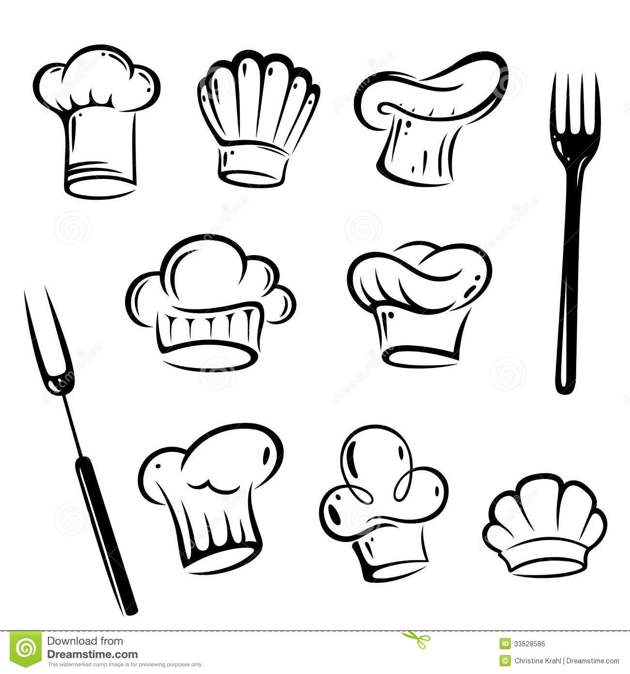 Chef Hat Vector Free
