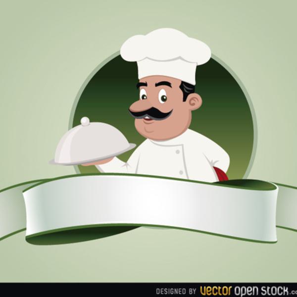 600x600 Free Vector Chef Emblem